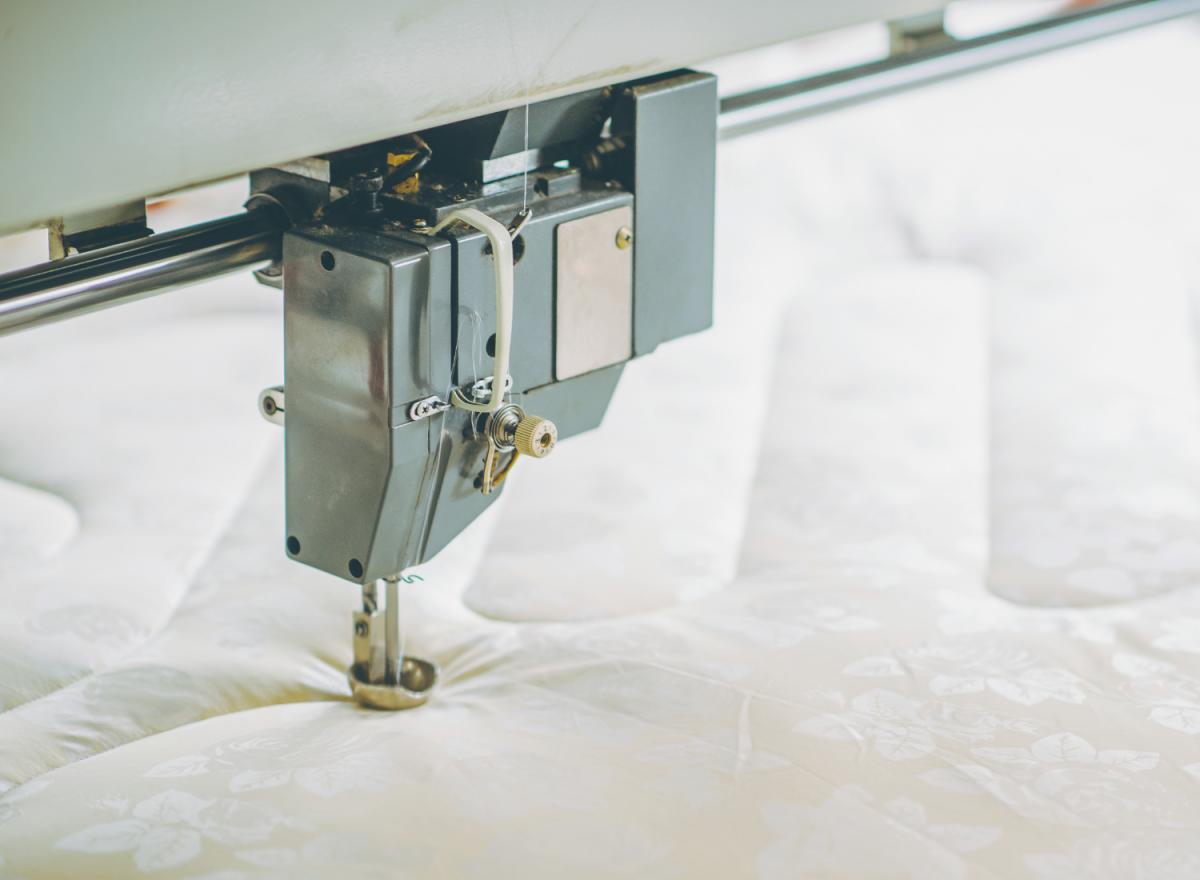 Fabrication de matelas sur-mesure, le process…